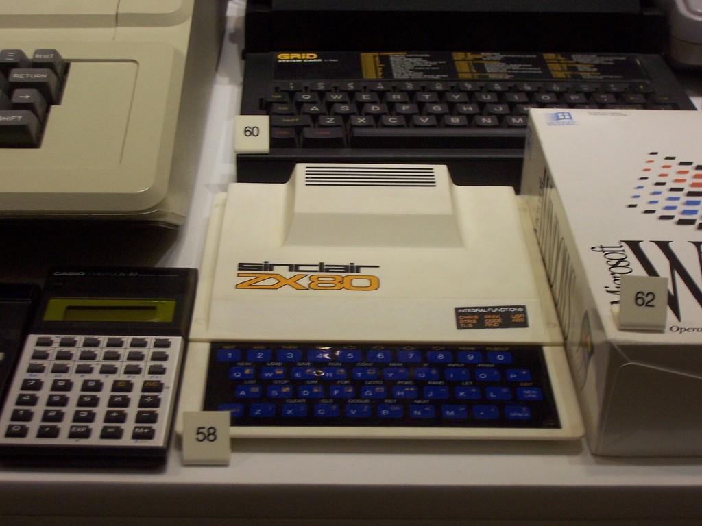 昔のコンピューターたち