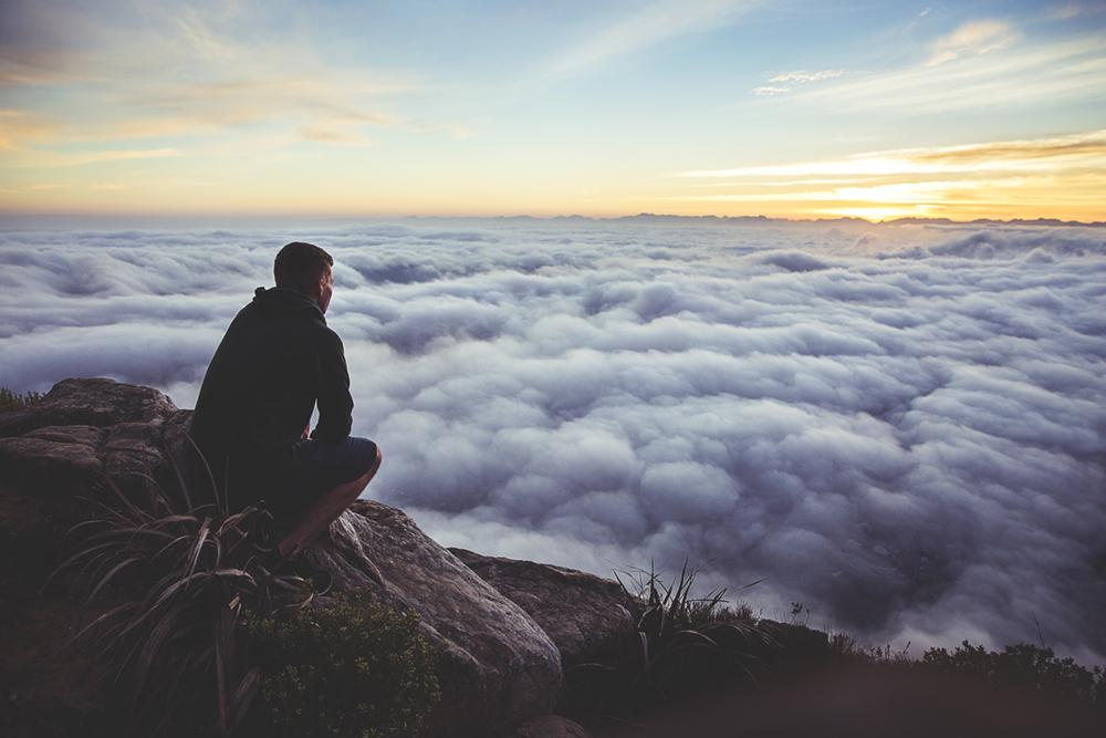 雲の上からの視野