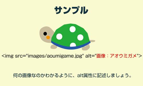 画像:Webサイトに画像を挿入する時のSEO対策例