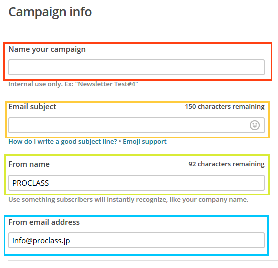 Campaign Builder - Setup MailChimp