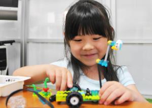 プロクラス ロボットプログラミング塾の様子
