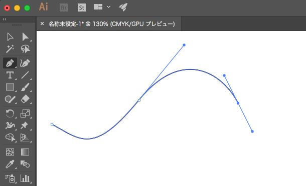「ベジェ曲線」というものを使い、独特の線の描き方をします。