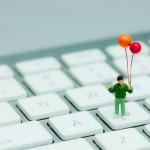 キーボードを使って作業効率をアップ!